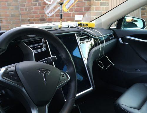 """""""Störsender"""" — Tesla Model S reagiert nicht mehr aufFOB"""