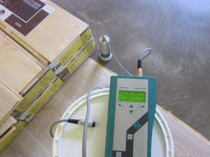 Einsatz vom Mikrowellentechnik zur Baufeuchtemessung