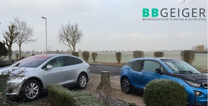 Tesla u. BMW kalt gestellt